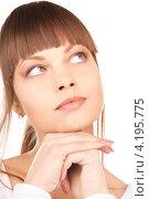 Купить «Портрет очаровательной молодой женщины с безупречной кожей крупным планом», фото № 4195775, снято 13 марта 2010 г. (c) Syda Productions / Фотобанк Лори