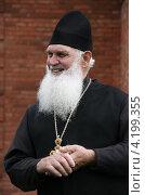 Купить «Православный священник», фото № 4199355, снято 17 августа 2012 г. (c) Николай Комаровский / Фотобанк Лори