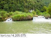 Купить «Филиппины. Притоки, впадающие в реку Лобок», фото № 4205075, снято 11 мая 2012 г. (c) Сергей Дубров / Фотобанк Лори