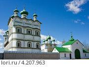Николо-Вяжищский женский монастырь, Великий Новгород (2012 год). Стоковое фото, фотограф Каменева Лариса / Фотобанк Лори