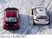 Радиоуправляемые модели автомобилей на снегу (2013 год). Редакционное фото, фотограф Денис Карелин / Фотобанк Лори