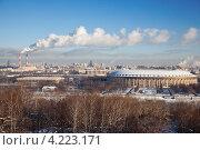 Купить «Панорама зимней Москвы», фото № 4223171, снято 22 января 2013 г. (c) Наталья Волкова / Фотобанк Лори