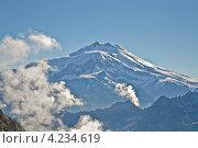 Вершина горы Эльбрус. Стоковое фото, фотограф Юрий Моругин / Фотобанк Лори