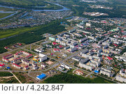 Купить «Город Лангепас, Ханты-Мансийский автономный округ», эксклюзивное фото № 4242847, снято 12 июля 2012 г. (c) Владимир Мельников / Фотобанк Лори