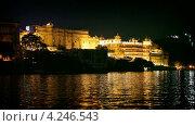 Купить «Городской дворец. Удайпур, Раджастан, Индия», видеоролик № 4246543, снято 30 января 2013 г. (c) pzAxe / Фотобанк Лори