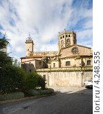 Купить «Кафедральный собор в городе Оренсе. Испания», эксклюзивное фото № 4248535, снято 26 сентября 2012 г. (c) Владимир Чинин / Фотобанк Лори