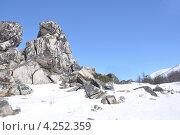 На перевале. Стоковое фото, фотограф Елена Соболева / Фотобанк Лори