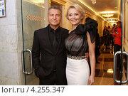Леонид Агутин и Анжелика Варум в Кремле (2012 год). Редакционное фото, фотограф Виктор Егоров / Фотобанк Лори
