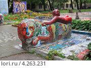 Купить «Мозаичный дворик», фото № 4263231, снято 4 сентября 2010 г. (c) Левина Татьяна / Фотобанк Лори
