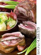 Купить «Свиные уши в желе», эксклюзивное фото № 4268579, снято 18 января 2013 г. (c) Александр Курлович / Фотобанк Лори