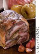 Купить «Свиные уши в желе», эксклюзивное фото № 4268583, снято 18 января 2013 г. (c) Александр Курлович / Фотобанк Лори