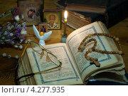 Купить «Вечерняя молитва», эксклюзивное фото № 4277935, снято 10 февраля 2013 г. (c) Короленко Елена / Фотобанк Лори