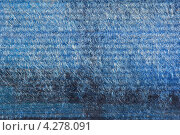 Текстура голубого пластика. Стоковое фото, фотограф Владимир Нестеренко / Фотобанк Лори