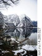 Горное озеро , Гальштатт. Стоковое фото, фотограф Екатерина Васенина / Фотобанк Лори