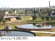 Купить «Сооружения Курьяновской водоочистной станции», фото № 4280951, снято 24 сентября 2008 г. (c) Александр С. Курбатов / Фотобанк Лори