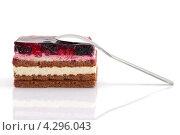 Черничный торт. Стоковое фото, фотограф Olha Ukhal / Фотобанк Лори
