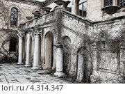 Купить «Старый особняк», фото № 4314347, снято 7 апреля 2012 г. (c) Владислав Осипов / Фотобанк Лори