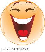 Купить «Смайл. Смех.», иллюстрация № 4323499 (c) Наталия Попова / Фотобанк Лори