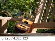 Купить «Маленькая гитара», фото № 4325123, снято 28 октября 2012 г. (c) Ludenya Vera / Фотобанк Лори
