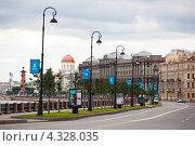 Набережная Макарова (2012 год). Редакционное фото, фотограф Андрей Разумов / Фотобанк Лори