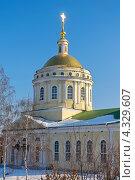 Купить «Собор Архангела Михаила в городе Орёл», фото № 4329607, снято 23 февраля 2013 г. (c) Ласточкин Евгений / Фотобанк Лори