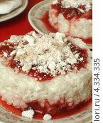 Десерт из молочного риса. Стоковое фото, фотограф Ольга Журбенко / Фотобанк Лори