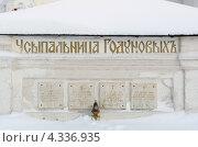 Купить «Свято-Троицкая Сергиева Лавра. Усыпальница Годуновых», эксклюзивное фото № 4336935, снято 24 января 2013 г. (c) Дмитрий Неумоин / Фотобанк Лори