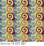Купить «Цветной бесшовный орнамент», иллюстрация № 4337287 (c) Денис Авданин / Фотобанк Лори