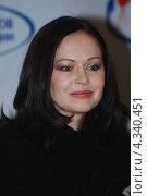 Купить «Актриса Ирина Безрукова», фото № 4340451, снято 27 февраля 2013 г. (c) Александр Легкий / Фотобанк Лори