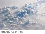 Вид на облачный слой сверху. Стоковое фото, фотограф Вера Мезенкова / Фотобанк Лори