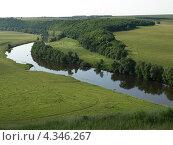 Река Красивая Меча. Стоковое фото, фотограф Ирина Петрова / Фотобанк Лори