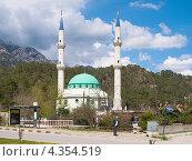 Купить «Мечеть на выезде из Кемера», фото № 4354519, снято 22 марта 2011 г. (c) Коротнев Виктор Георгиевич / Фотобанк Лори