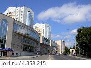 Купить «Пятигорск, торговый квартал на проспекте Калинина», фото № 4358215, снято 19 октября 2018 г. (c) Валерий Шилов / Фотобанк Лори