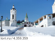 Коломенское зимой (2013 год). Редакционное фото, фотограф Ткачёва Ольга / Фотобанк Лори