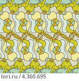 Купить «Цветной бесшовный орнамент», иллюстрация № 4360695 (c) Денис Авданин / Фотобанк Лори