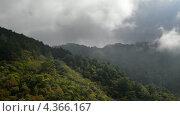 Горный пейзаж в национальном парке Montecristo в Сальвадоре. Стоковое видео, видеограф Soft light / Фотобанк Лори