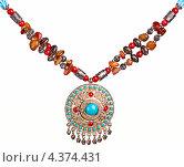 Арабское ожерелье. Стоковое фото, фотограф Andrey Politov / Фотобанк Лори