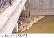 Купить «Река Яуза весной», эксклюзивное фото № 4375411, снято 5 мая 2012 г. (c) Алёшина Оксана / Фотобанк Лори
