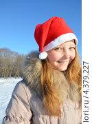 Портрет улыбающейся девушки. Стоковое фото, фотограф Диана Линевская / Фотобанк Лори