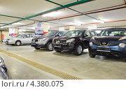 """Купить «Автомобили """"Ниссан"""" в автосалоне», эксклюзивное фото № 4380075, снято 5 февраля 2013 г. (c) Алёшина Оксана / Фотобанк Лори"""