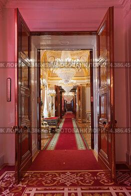 Москва, Большой Кремлевский дворец, анфилада
