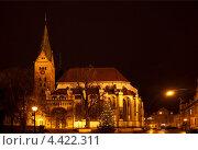 Купить «Аугсбург, Бавария, Германия. Собор девы Марии», фото № 4422311, снято 21 декабря 2012 г. (c) Наталья Волкова / Фотобанк Лори