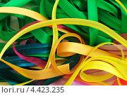 Ленты из ткани. Стоковое фото, фотограф Евгений Валерьевич / Фотобанк Лори