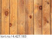 Деревянный лакированный забор, фон. Стоковое фото, фотограф Владимир Нестеренко / Фотобанк Лори