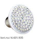 Купить «Энергосберегающая светодиодная (LED) лампа», фото № 4431935, снято 21 марта 2013 г. (c) Boroda / Фотобанк Лори