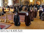 Купить «Коленопреклонённая молитва», эксклюзивное фото № 4435523, снято 22 марта 2013 г. (c) Дмитрий Неумоин / Фотобанк Лори