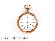 Золотые карманные часы. Стоковое фото, фотограф CHERKAUSKAS VIKTOR / Фотобанк Лори