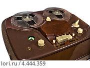 Купить «Винтажный катушечный магнитофон», фото № 4444359, снято 5 апреля 2012 г. (c) Иван Бондаренко / Фотобанк Лори