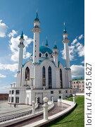 Мечеть Кул Шариф, Казань (2012 год). Стоковое фото, фотограф Ekaterina Shustrova / Фотобанк Лори
