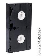 Купить «Видеокассета, изолировано на белом фоне», фото № 4453627, снято 28 февраля 2013 г. (c) Игорь Долгов / Фотобанк Лори